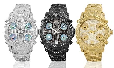 JBW Jet Setter Collection Men's Diamond Swiss Watch