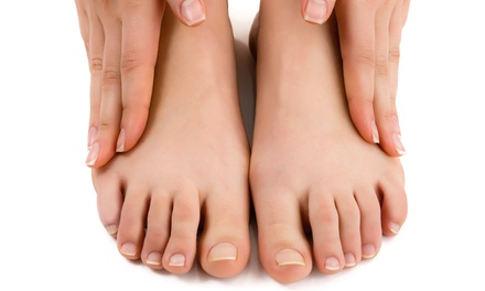 Laser Nail-Fungus Removal on Both Feet at Oklahoma Foot & Ankle Associates (Up to 83% Off)