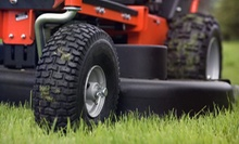 Lawn-Care Services for a Quarter, Half, or Full Acre from Groundworkx (Up to 51% Off)