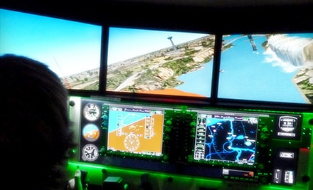 One, Two, or Three 30-Minute Flight-Simulator Experiences at Destinations Executive Flight Center (Up to 57% Off)