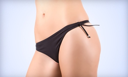 One or Two Brazilian or Bikini Waxes or Year of Unlimited Brazilian or Bikini Waxes at EnviouSkin (Up to 67% Off)