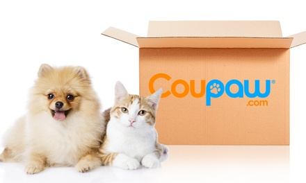 Toys, Treats, Pet Food, and More from Coupaw (Half Off)