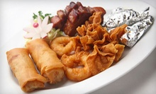 $12 for $25 Worth of Chinese Dinner Cuisine at House of Louie