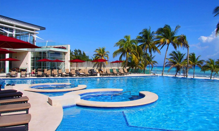All Inclusive Mexico Beach Vacation With Airfare Groupon