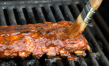 $10 for $20 Worth of Pit Beef, Ribs, and Wings at Charcoal Grill