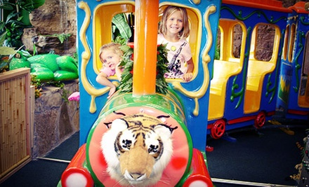 $5 for Kids Outing with Rides and Access to Play Areas at Indoor Safari Park ($9.99 Value)