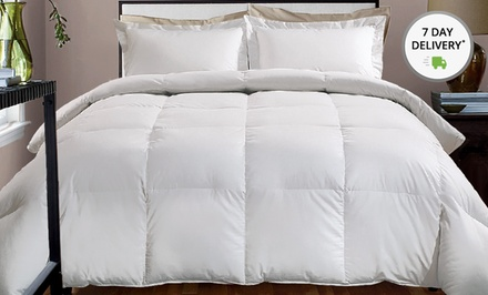 Hotel Grand 600 Thread-Count Down Alternative Comforters. Multiple Styles Available. Free Returns.