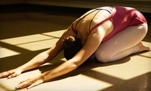 10 or 20 Yoga Classes at Breath of Life Health & Wellness Center (Up to 68% Off)