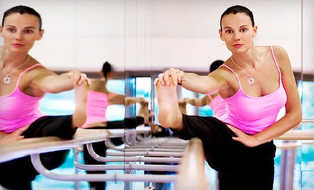 10 or 20 Barre, Body Sculpting, or Yoga Classes at Adrenaline Barre Fitness (Up to 68% Off)