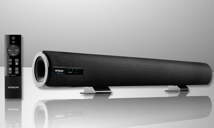 Hitachi Bluetooth Sound Bar Hsb32b26 Groupon