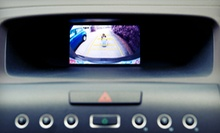 Backup Camera and Color Monitor, Backup-Warning Sensors, or Both from Alarms, Etc. (Up to 54% Off)