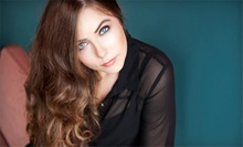 Haircut, Conditioning, and Style with Optional All-Over Color or Partial Highlights at Hollywood Hair (Up to 75% Off)