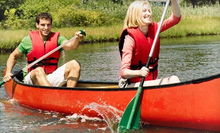 Weekday or Sunday Canoe or Kayak Adventure for Two from Buckley's Mountainside Canoes (Up to Half Off)