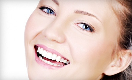 Same-Day-Crown Package, or Four Veneers or Crowns with Take-Home Whitening Kit at Comfort Dental (Up to 57% Off)