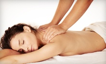60- or 90-Minute Therapeutic Massage or 75-Minute Hot-Stone Massage at Backs In Motion ChiroSpa (Up to 53% Off)