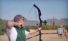 One-Year Standard or Family Membership at Arizona Archery Club (Up to 53% Off)