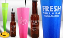 $21 for Two Yard-Sized Blended Liquor Drinks at Fresh Grill & Bar ($36 Value)