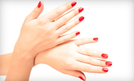 Express Mani-Pedi or One or Three Gel Manicures at Exotic Nails (Up to 56% Off)