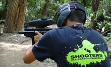 All-Day Paintball with Equipment for One, Four, or Six at Shooters All-Season Paintball (Up to 63% Off)