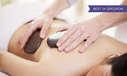 60- or 90-Minute  Hot Stone or Thai Herbal Massage at Lion & Dragon Yoga Bodyworks (48% Off)