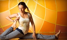 Five Yoga Classes or Five Weeks of Unlimited Yoga at DiviniTree Yoga and Arts Studio (Up to 82% Off)