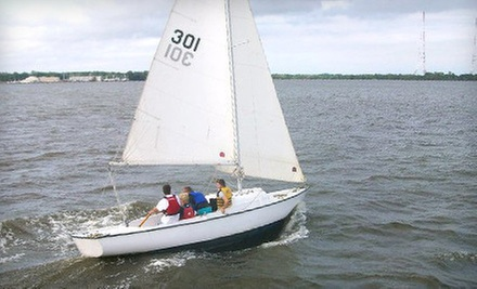 Two-Hour Sailing Lesson for One or Two at Annapolis Sailing School (Up to 58% Off)