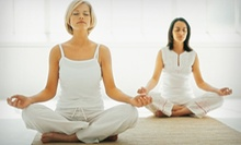 $39 for One Month of Unlimited Yoga at Urban Prana Yoga ($110 Value)