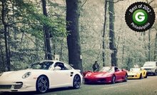 $ 199 for a Two-Hour Exotic-Car Racing Experience from Mach5 Cars on Any Wednesday in AprilAugust ($ 499 Value)