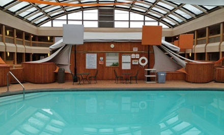 groupon daily deal - Stay at Radisson Milwaukee North Shore; Dates into May