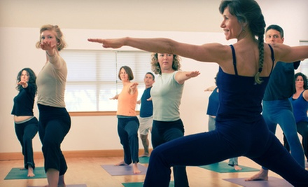10 or 20 Yoga Classes at The Yoga Room of Redlands (Up to 73% Off)