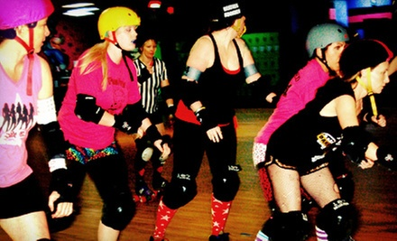 $10 for One Month of Beginner Roller-Derby Boot Camp at South Side Roller Derby ($65 Value)