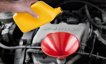$19 for Oil Change, Tire Rotation, Brake Check, and Inspection at Certi-Tate Tires & Automotive Center ($90 Value)