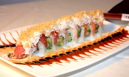 Brunch and Mimosas or Japanese Dinner for Two or Four at Hamachi Restaurant and Lounge (Up to 43% Off)