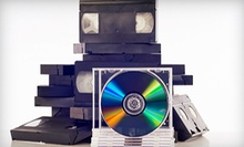 VHS-to-DVD Conversion at Concept One Media in Downers Grove (Up to 60% Off). Two Options Available.