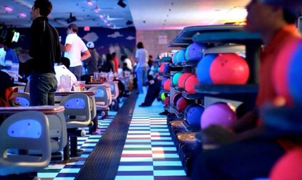 Three Games of Bowling for Two or Two Hours of Cosmic Bowling for Ten at Waveland Bowl (Up to 51% Off)