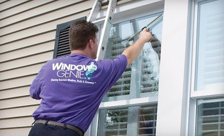 Interior and Exterior Cleaning of 25 or 35 Windows from Window Genie (Up to 62% Off)