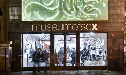 Admission and Cocktails at the Museum of Sex (Up to 50% Off). Four Options Available.