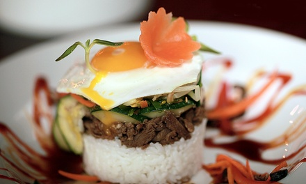 Asian-Fusion and Korean Cuisine for Dine-In or Carry-Out at Bull Asian Fusion Bistro and Sushi (50% Off)