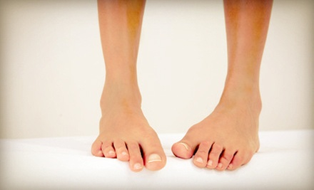 $179 for Laser Toenail-Fungus Removal for Both Feet at North Lakeland Foot Clinic ($1200 Value)