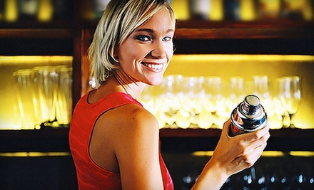 Mixology Class for One or Two, or Bartending Certification Course (Up to 75% Off)