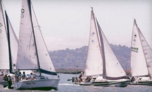 Basic Keelboat Sailing Lesson for One or Two People from Spinnaker Sailing in Redwood City (Up to 53% Off)