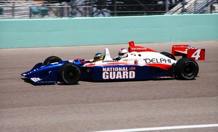 Three-Lap Ride-Along for One or Two at Indianapolis Motor Speedway from Indy Racing Experience (Half Off)