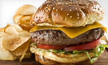 $8 for $16 Worth of Burgers, Sandwiches, and Appetizers at Kudzu's Bar and Grill