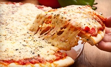 Carryout Pizza Meals at Mama Mia Pizza, Subs, & Wings (Up to 55% Off). Three Options Available.