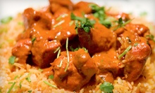 $14 for $28 Worth of Indian Dinner Cuisine at The Spice Jammer