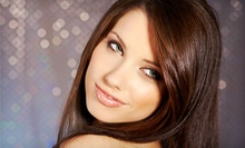 One or Two Keratin Hair-Smoothing Treatments at The Cutting Crew (Up to 60% Off)
