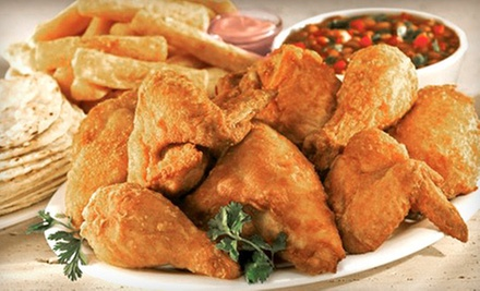 $15 for Three Vouchers for Latin Food at Pollo Campero ($30 Value)