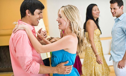 $44 for Three Private Lessons and Two Weeks of Group Lessons and Parties at Savannah Ballroom Dancing ($150 Value)