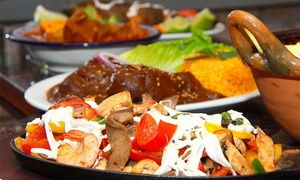 Dinner For Two Or Four With Appetizers And Entrees At Azul Tequila Mexican Restaurant (up To 57% Off)