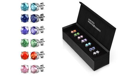 Conjunto de 7 pares de brincos com Swarovski Elements por 19,99€ ou dois conjuntos por 34,99€